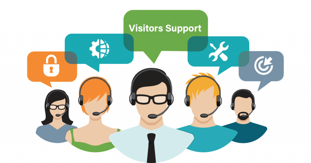 Visitors Support